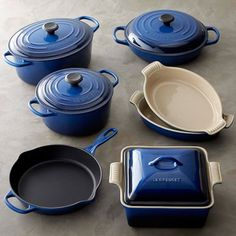 Le Creuset Cast-Iron and Stoneware 10-Piece Set #williamssonoma