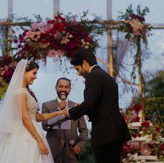 Chaisam wedding Pics: Naga Chaitanya ties the knot with Samantha Ruth Prabhu Wedding Gallery, Wedding Pics, Wedding Couples, Cute Couples, Wedding Gowns, Bridal Gowns, Wedding Stuff, Samantha Photos, Samantha Ruth