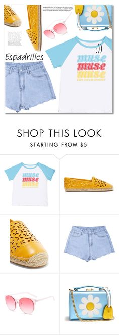 """Espadrilles"" by fshionme ❤ liked on Polyvore featuring MICHAEL Michael Kors, Mark Cross and espadrilles"