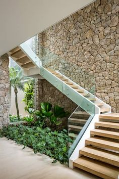110 unique modern staircase design ideas for your dream house 32 Entryway Stairs, Staircase Railings, House Stairs, Staircase Design, Stairways, Basement Stairs, Stair Design, Entryway Ideas, Garden Stairs