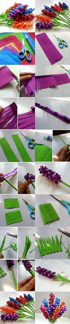 Tutoriales y DIYs: Flores de papel