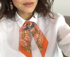 How to use a twilly Hermès, itallian fashion blogger , Nayla C