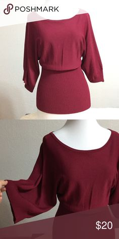 Top In good condition. Worn only twice no stains or rips. Stretches well very pretty color and design. You'll love it. Kenar Tops