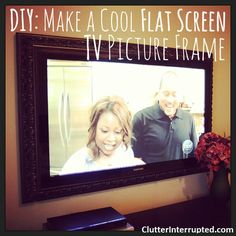 Flat screen TV's are so great when you are watching your favorite shows or a football game but they can take away from the rest of your room decor. One solution is to make the screen a little more ...