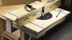 One-weekend router table
