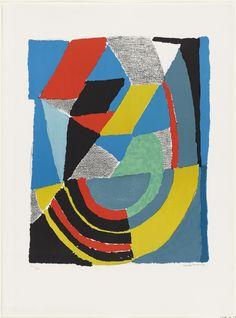 Sonia Delaunay-Terk. Untitled. (1968-77)