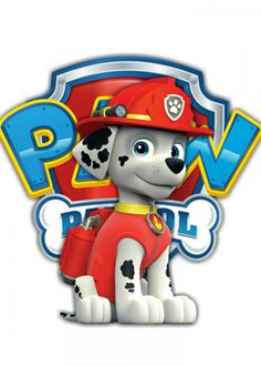 Paw Patrol RedFascinating metal poster designed with love by arshaka Decorate your space with this d Paw Patrol Cake, Paw Patrol Party, Paw Patrol Birthday, Birthday Party At Park, Spongebob Birthday Party, Paw Patrol Cartoon, Imprimibles Paw Patrol, Paw Patrol Decorations, Cumple Paw Patrol