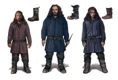 The heirs of Durin without their coats