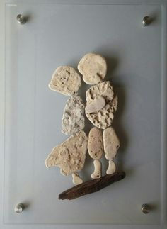 """""""Lovers"""" from my floating stones art www.ayalamor.com"""