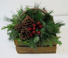 New Christmas Items for 2014 Christmas Items, Christmas Wreaths, Christmas Crafts, Christmas Decorations, Xmas, Holiday Decor, Christmas Floral Arrangements, Greenery, Centerpieces