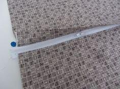 Kissen mit verdeckter Reißverschlussleiste - klasse Tutorial