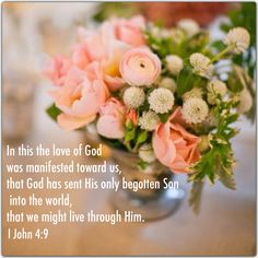 Explore millions of stunning wedding images to help inspire and plan your perfect day. Bible Quotes, Bible Verses, Art Quotes, Angel Prayers, Christian Love, Rose Of Sharon, Sisters In Christ, Begotten Son, Everlasting Life