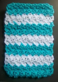 Crochet Patterns for the beginner or the advanced: 2 Toned Seed Stitch Crochet Pattern