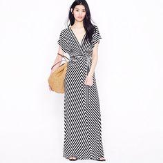j.crew Kimono sleeve maxidress