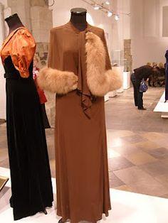 Art Deco Style. Interwar Period Fashion Design