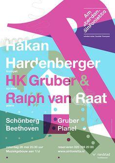 Amsterdam Sinfonietta: by Studio Dumbar