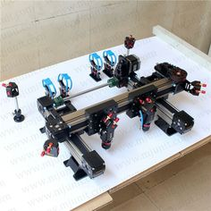 133.00$  Watch now - http://ali7p4.shopchina.info/go.php?t=1522569260 - Heavy Type Flange LinearGuideway cnc  drive laser cutting machine  #aliexpress
