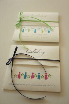 Einladung zur Kommunion - GARTEN.GOTTES von creartiv.box auf DaWanda.com
