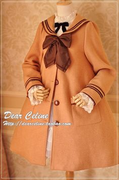 Dear Celine Sailor Coat Oh this is so cute and cozy looking! Makes me think of soft things like teddy bears and rocking chairs. I love it!