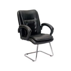 OFFICE VISITOR CHAIR-MB  Treat your clients and visitors to the luxurious comfort of soft upholstery.     Modular Office Furniture, Office Chair, Office Visitors Chairs, Workstation Chairs