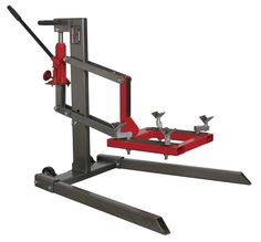 Sealey Tools MCL500 Single Post Motorcycle Lift 450kg Capacity