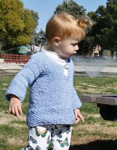 Free Knitting Pattern - Toddler & Children's Clothes: Sprout Child's Tunic