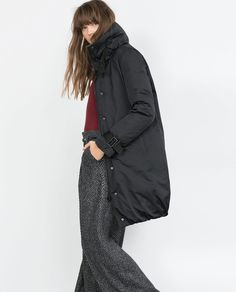 Image 3 of LONG DOWN JACKET from Zara