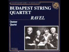 String Quartet in F Major — Maurice Ravel. You can give this genius any instrumentation and he'll make it sound like an orchestra. Wow. I prefer Debussy's clarity in melody/form, but Ravel beats all in orchestration and effects :D