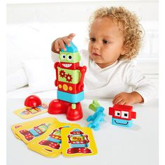 With the brilliant Build It Construction Starter Set, your child can build their own exciting creations with the chunky shapes, nuts, bolts and tools Elc Toys, Educational Baby Toys, Toys Shop, Early Learning, Toys For Girls, Toddler Toys, Children, Kids, Robot