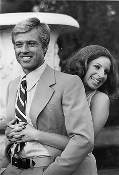 "Robert Redford and Barbra Streisand in ""The Way We Were."""