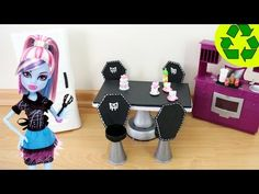 How to Make a Fantastic Doll Dining Room Table & Chair Set