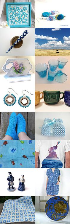 something blue... by ateliertomono on Etsy--Pinned with TreasuryPin.com