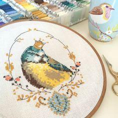 Cross Stitch / Helene Le Berre - Les Oiseaux