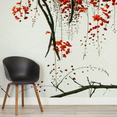 red-blossom-flower-square-wall-murals
