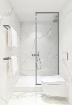 Relaxing Bathroom, Attic Bathroom, Bathroom Toilets, Small Bathroom, Dream Bathrooms, Beautiful Bathrooms, Modern Vintage Bathroom, Nerja, House Extension Design