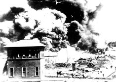 So intent was the white mob on destroying Greenwood that they stopped firefighters from getting to the blazes. Firefighters testifying in an insurance case said they were threatened and even shot at when they arrived on the scene of the earliest fires. Later, they received orders from Fire Chief R.C. Alder not to respond to alarms from the black district because of the danger. That order remained in effect until the fires were out of control, 1921. Photo: McFarlin Library, The Univ. of Tulsa