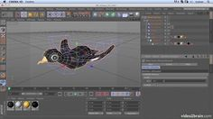 How to fly a bird using Xpresso.