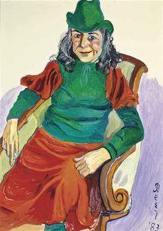 Alice Neel, Portrait of Vivien Leone