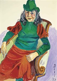 Alice Neel, Portrait of Vivien Leone