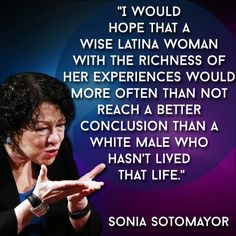 the life and career of sonia sotomayor as an associate justice of the supreme court Sonia maria sotomayor is an american judge currently serving as an associate justice of the supreme court of the united states appointed by president barack obama in may 2009 and validated in august 2009, sotomayor is the first justice of hispanic ancestry as well as the first latina to hold such office.