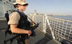 Military Soldier  Girls & Guns Gun Weapon Ship Navy Warship Wallpaper