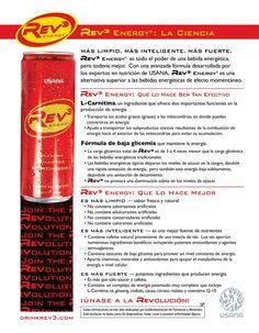 Rev3 Bebida energetica limpia de usana #usana