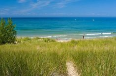 Lake Michigan beach in Pentwater Township. Photo via http://www.pentwatertwp.org/photo-gallery.html