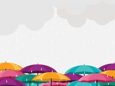 Colorful Umbrellas, Public Domain, View Image, Free Images, Rain, Pictures, Rain Fall, Photos, Waterfall
