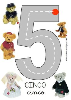3 Year Old Preschool, Preschool Math, Kindergarten Math, Teaching Numbers, Math Numbers, Letters And Numbers, Language Activities, Motor Activities, Activities For Kids