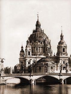 Berlin 1906 Dom (Nordseite)