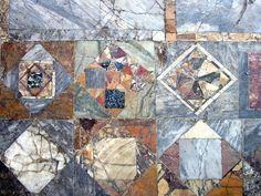 Herculaneum Floor - Opus sectile - Pavimento in opus sectile di una casa di Ercolano