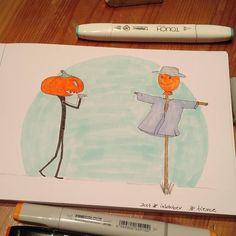 Inktober day 14. Fierce #inktober2017 #zensations #inktober #drawing #artwork #instaart #illustration #ink #sketching #sketchdrawing #hellowinci