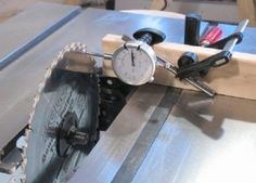 table saw alignment