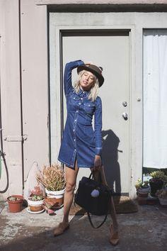 Alexa Chung x AG Pixie dress